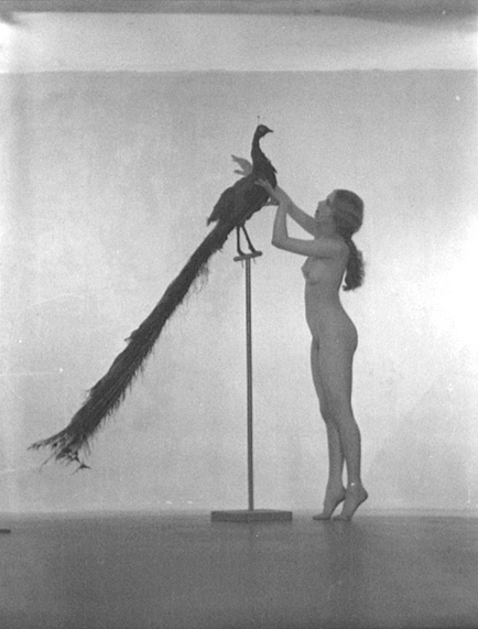 21William-Mortensen--Nude-with-Peacock
