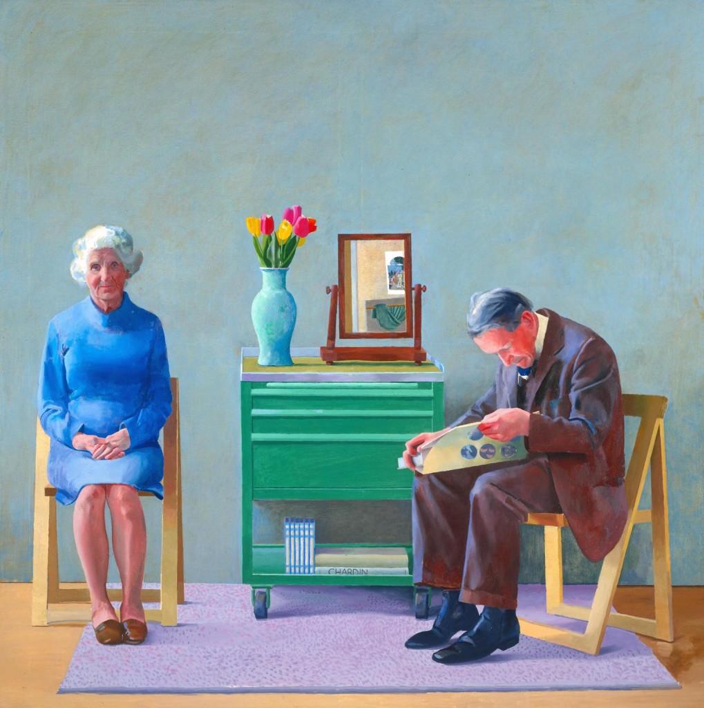 My Parents 1977 David Hockney born 1937 Purchased 1981 http://www.tate.org.uk/art/work/T03255