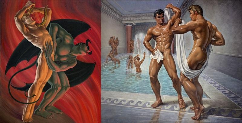 fantasy art Homoerotic