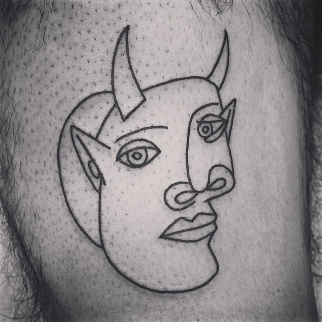 Picasso Line Drawing Tattoo : Picasso line drawings tattoo pixshark images