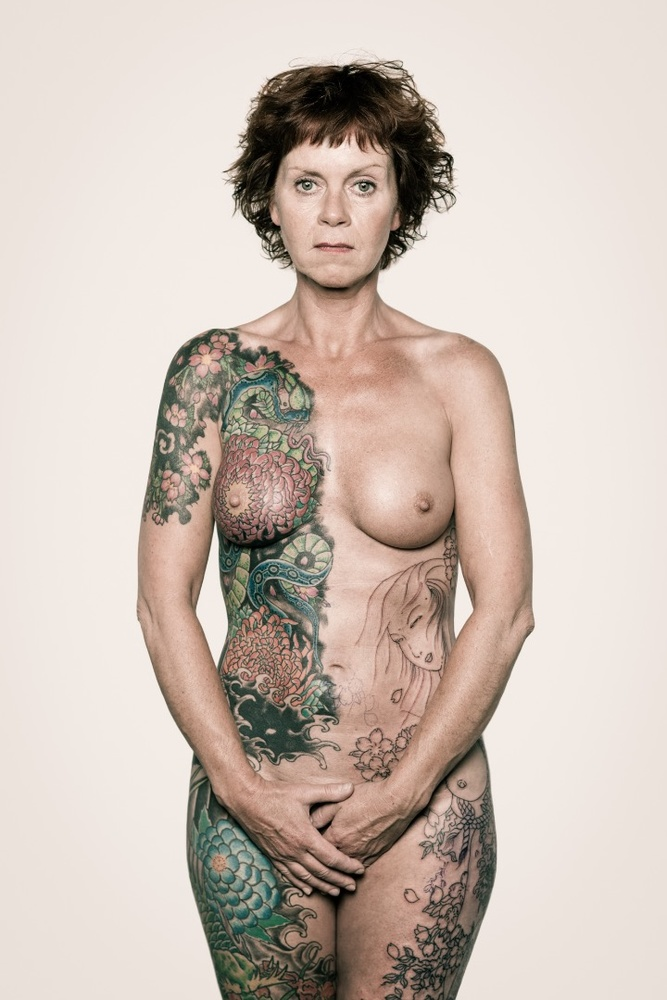 Naked Women Tattoos For Guys