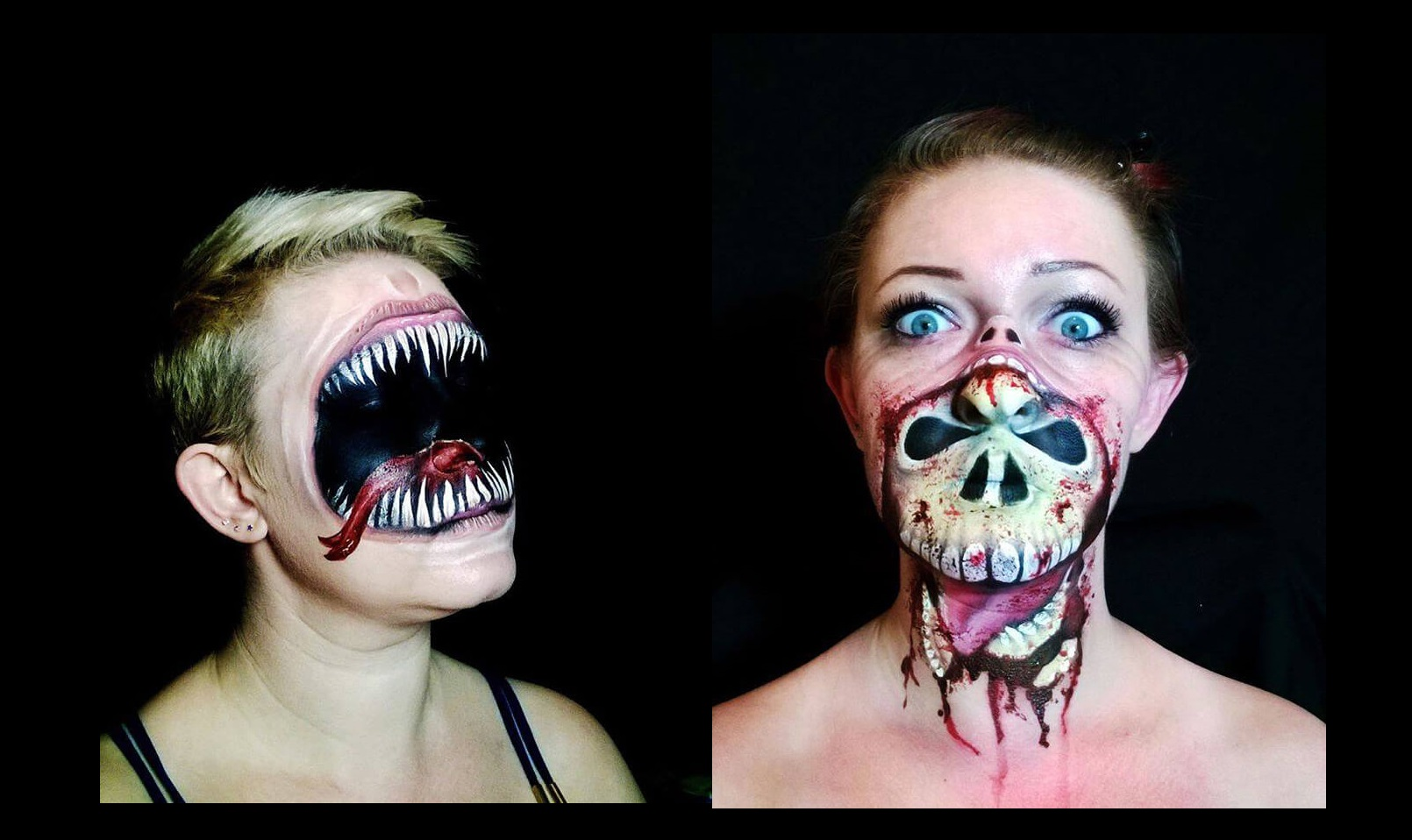 creepy halloween makeup by nikki shelley22__700