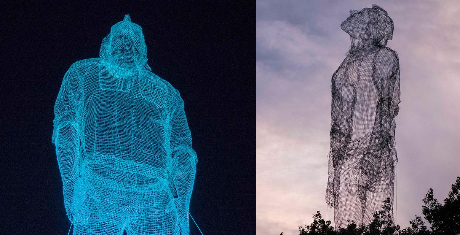 The Impressive Large-Scale Sculptures of Edoardo Tresoldi | Art-Sheep