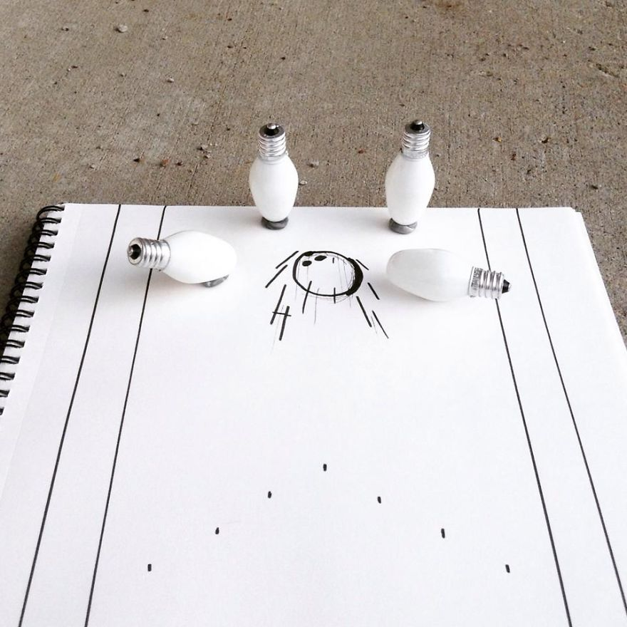 Kristi 225 N Mensa S Funny Illustrations On Everyday Objects