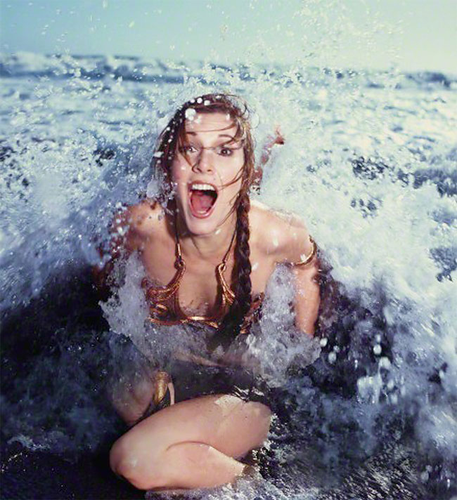 nude leia fisher slave Carrie princess