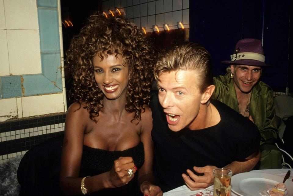 Beautiful photos of david bowie and iman s 23 years of - Les bains douche paris discotheque ...
