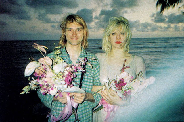 Rare Vintage Photos Of Kurt Cobain Amp Courtney Love On
