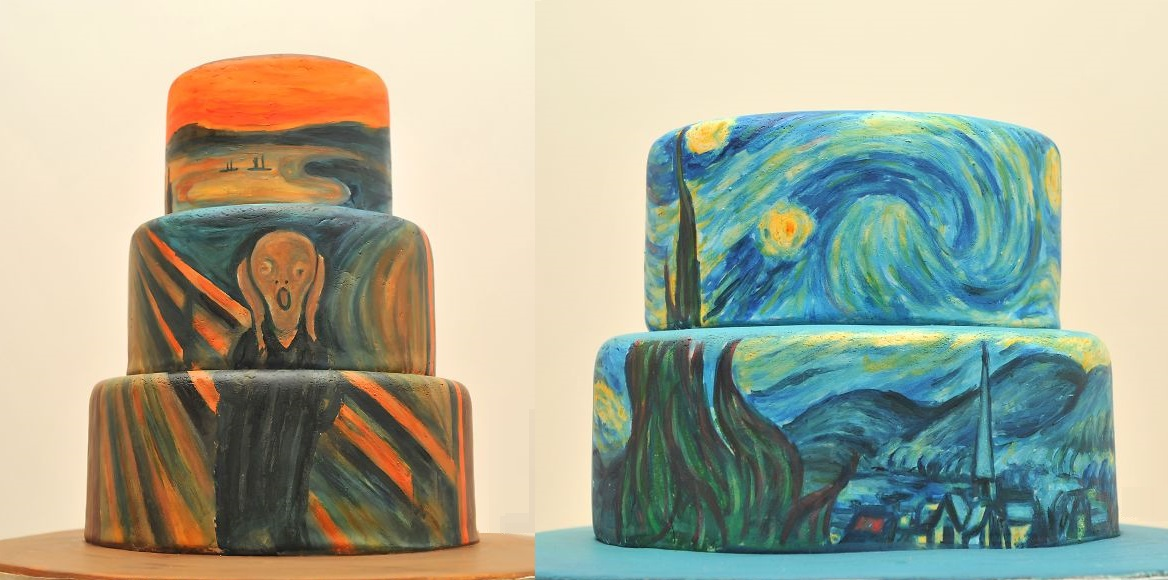 Dan Cake Artist Maine : Famous Paintings Recreated On Cakes Art-Sheep