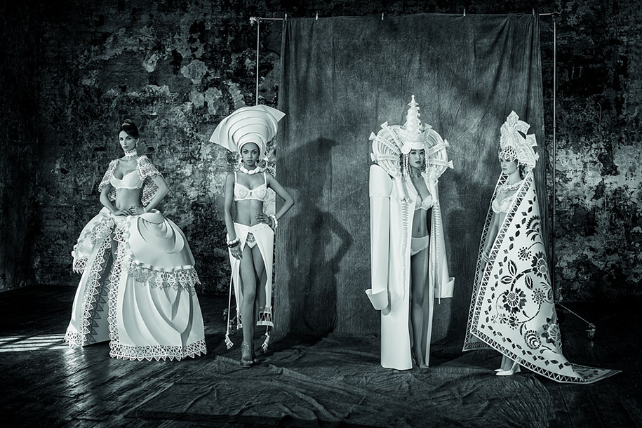 Mind Blowing Traditional Wedding Dresses Around The World: Asya Kozina's Exquisite Paper Dresses