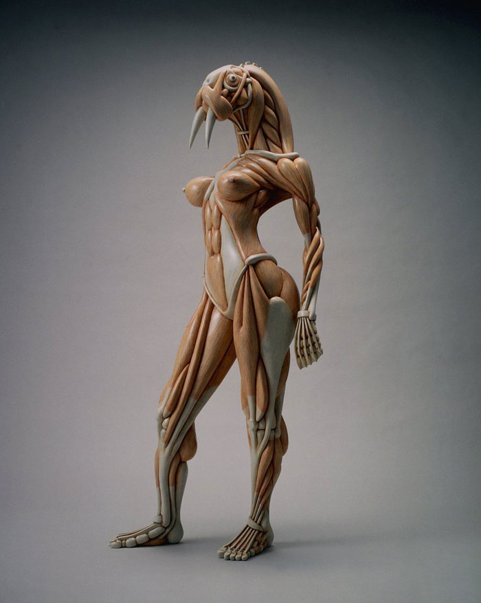 The Alien Anatomy Sculptures of Masao Kinoshita | Art-Sheep