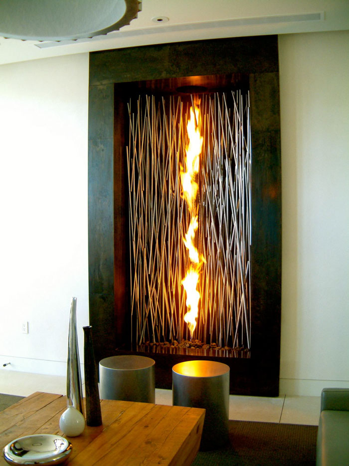 25 of the most creative fireplaces ever | art-sheep