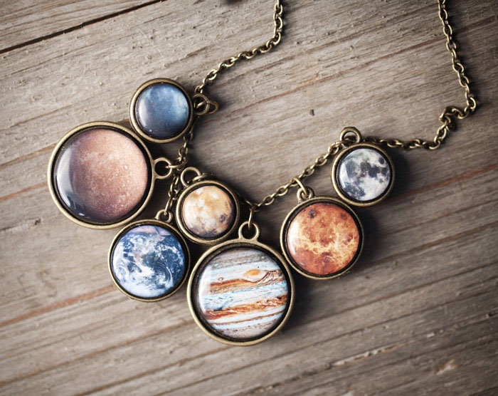 Beautyspot Creates Space Jewelry Pieces That Are Literally