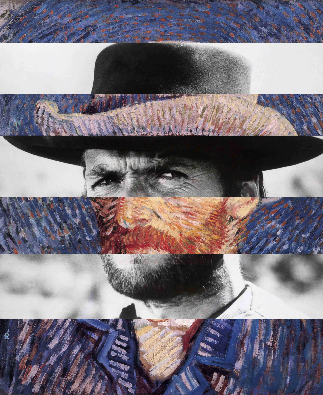 Van Gogh + Clint Eastwood