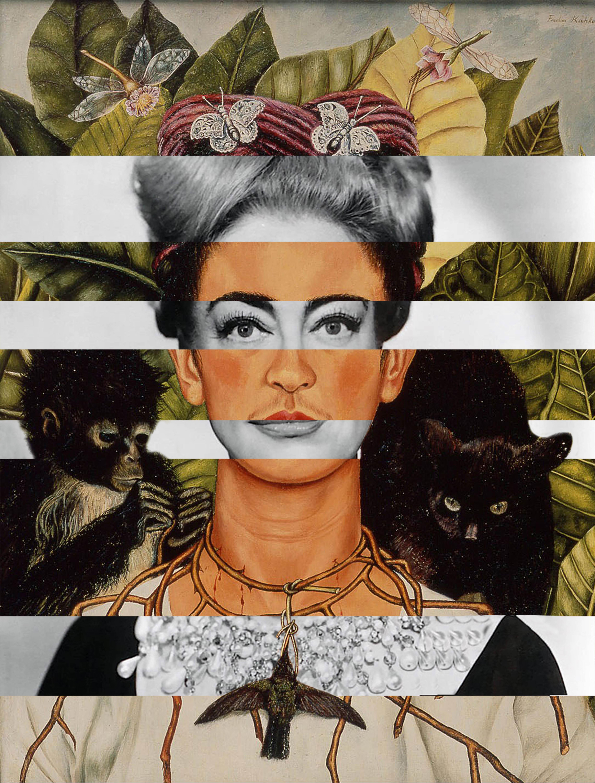 Frida Kahlo & Joan Crawford