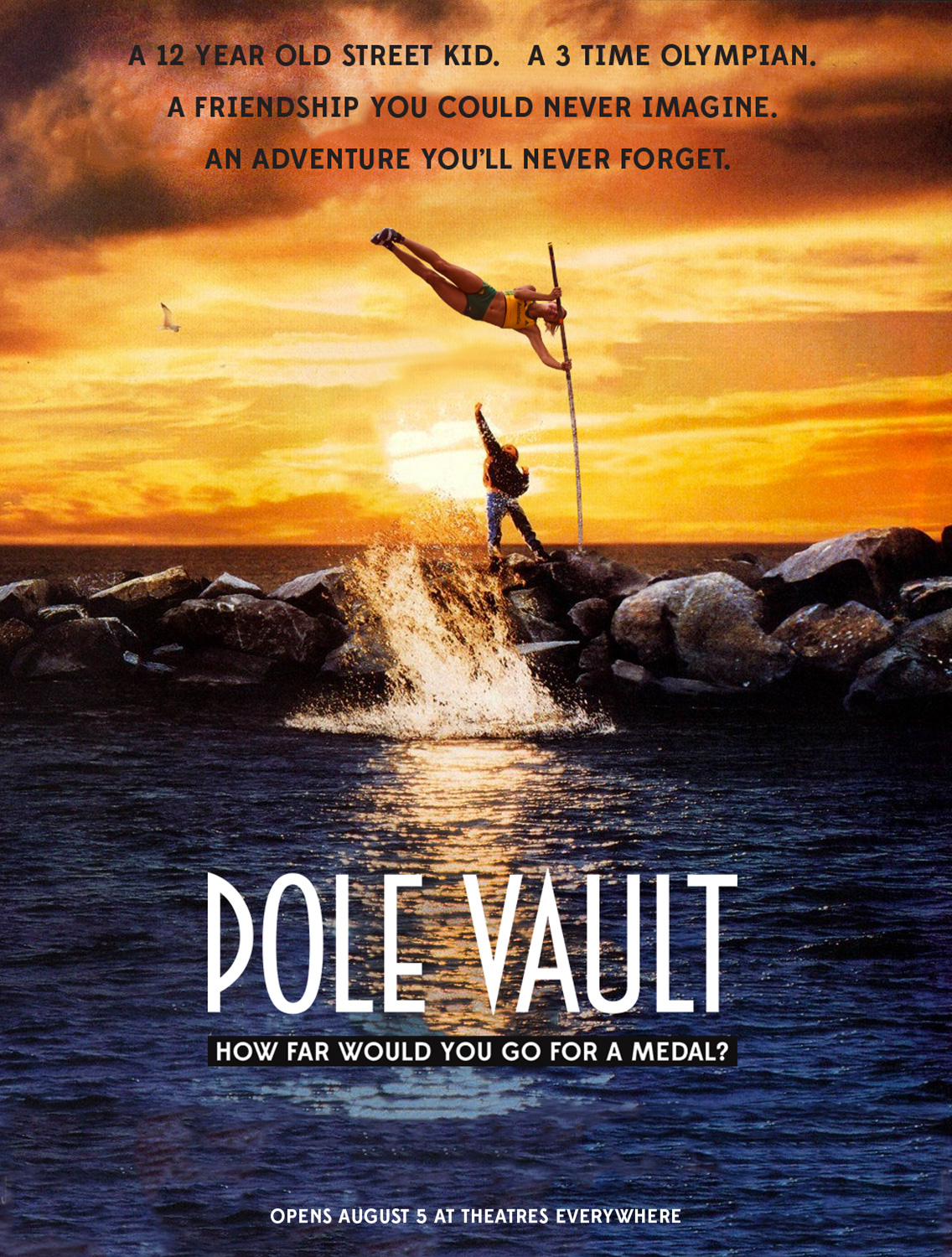 free willy as pole vault
