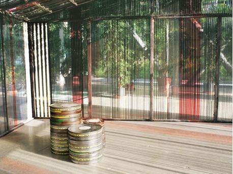 Agnès Varda, The Cinema Hut, 2006