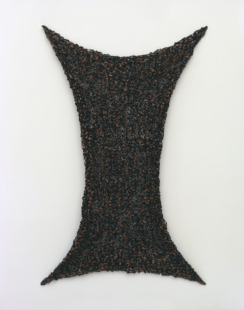 Alexandra Bircken, Fe2O3, 2011, Audio Tape, 106 x 66.5 cm
