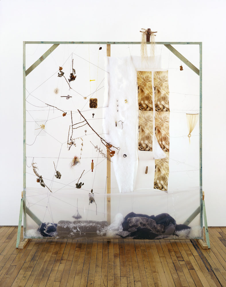 Alexandra Bircken, Growth, 2010, Mixed Media, 225 x 208 x 25 cm
