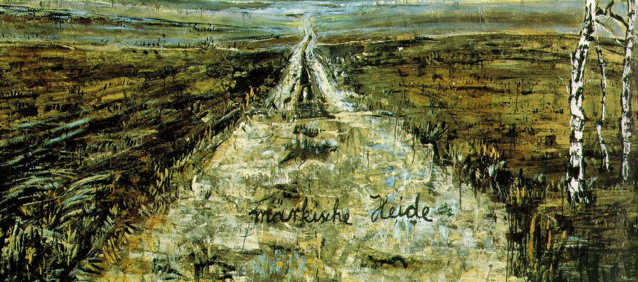 Anselm Kiefer, March Heath, 1974