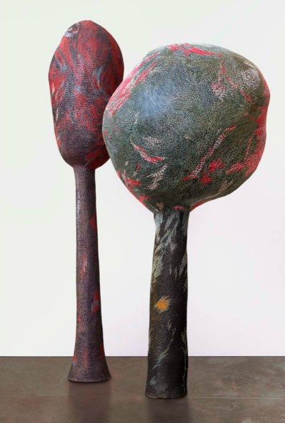 Bharti Kher, It's a Jungle Out There, 2002, fiberglass,