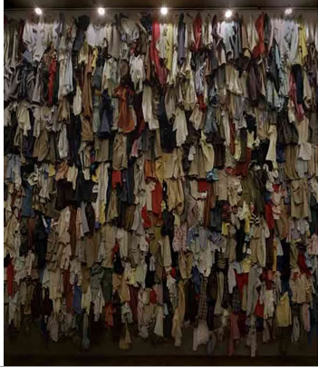 Christian Boltanski, Canada, 1988, installation view, Ydessa Hendeles Art Foundation, Toronto