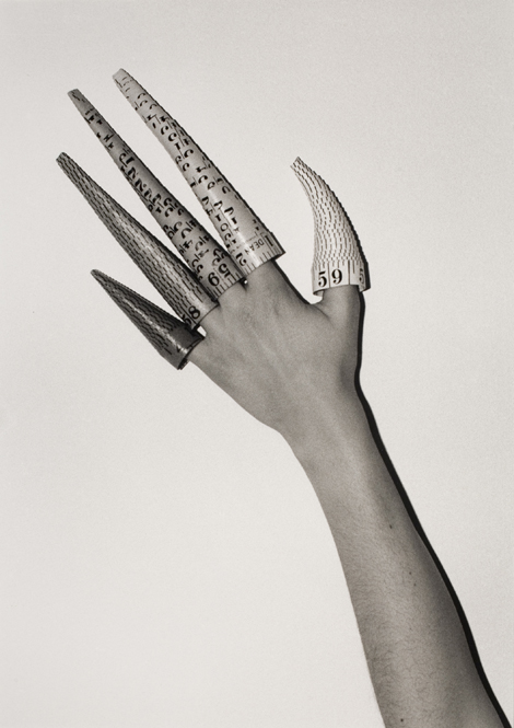 Cones on Fingers, 1995 (1979). (Leonard & Bina Ellen Gallery Collection, Concordia University, artist donation, 1995)