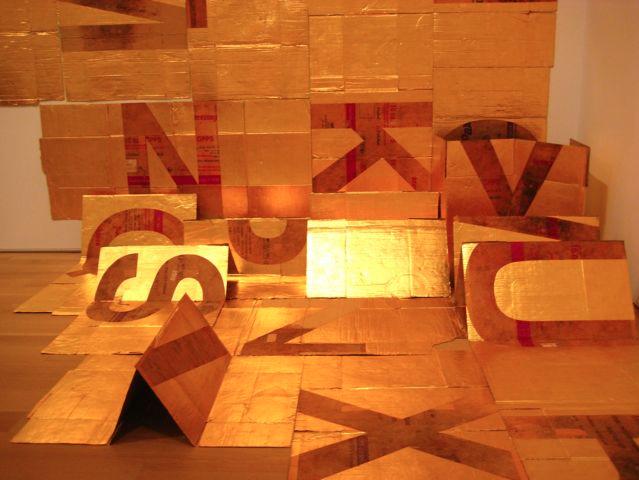 Dahn Vo, Bowditch Alphabet, 2011