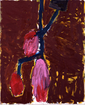 Georg Baselitz, Flower, 1982
