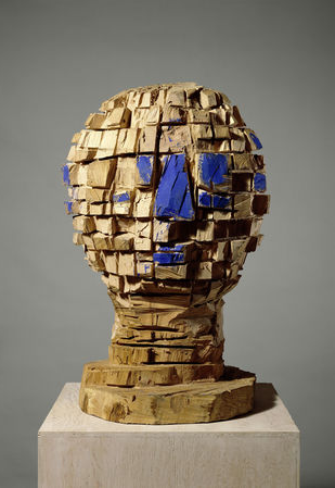Georg Baselitz, G.-Kopf, 1987