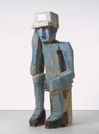 Georg Baselitz, Volk Ding Zero, 2009.