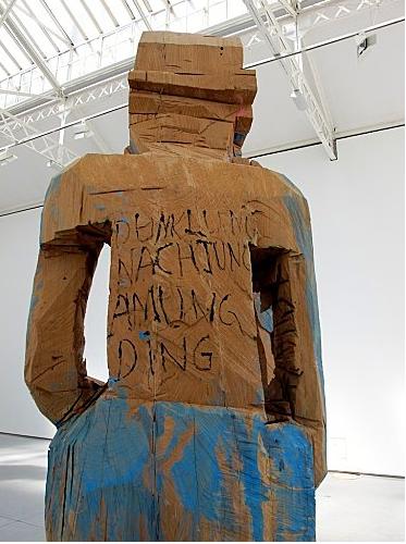 Georg Baselitz, Volk Ding Zero, 2009