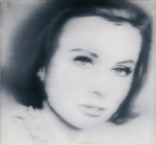 Gerhard Richter, Portrait of Liz Kertelge, 1966