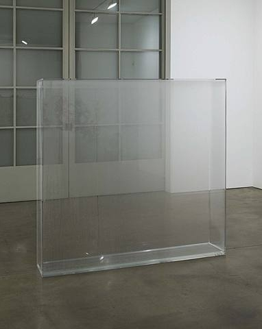 Hans Haacke, Condensation Wall, 1963-1965