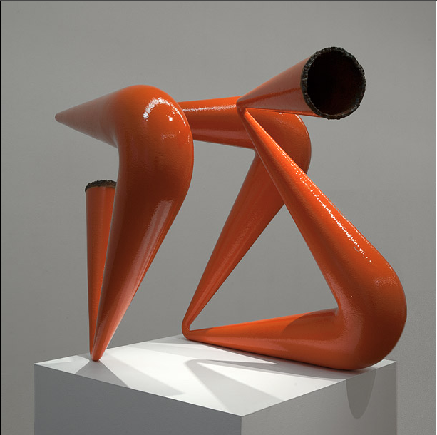 James Angus, Orange Pipe Compression, 2012