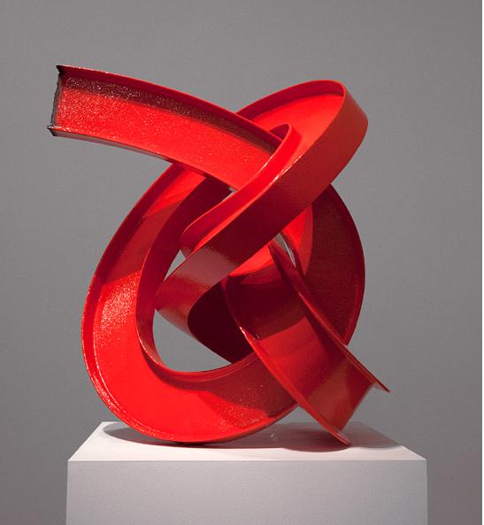James Angus, Red I-beam knot, 2012