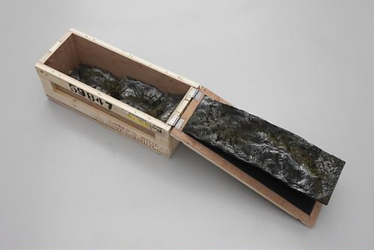 Katrín Sigurdardóttir, Haul IXX, 2009, Wood, resin, pigments, 27.9 x 68.6 x 26.7 cm (variable)