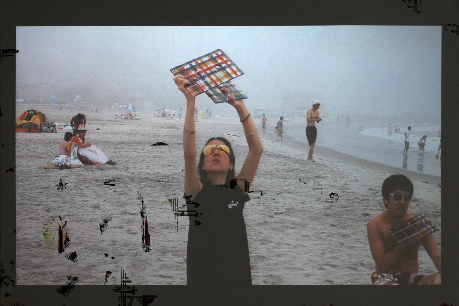 Kerstin Brätsch, Taiyo no tate, 2012, DAS INSTITUT - UNITED BROTHERS, Filmstill