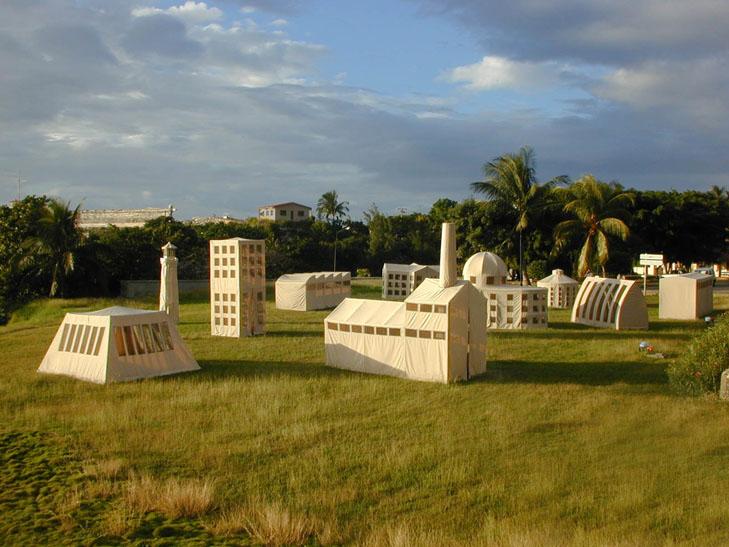 Los Carpinteros, Transportable City, 2000