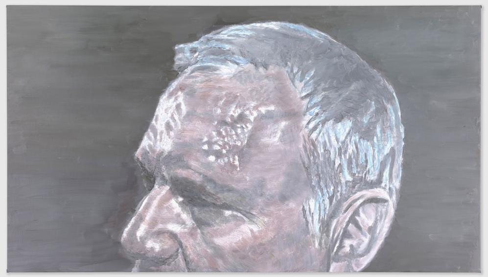Luc Tuymans, A Belgian Politician, 2011, OIl on canvas, 64,2 x 113,9 cm