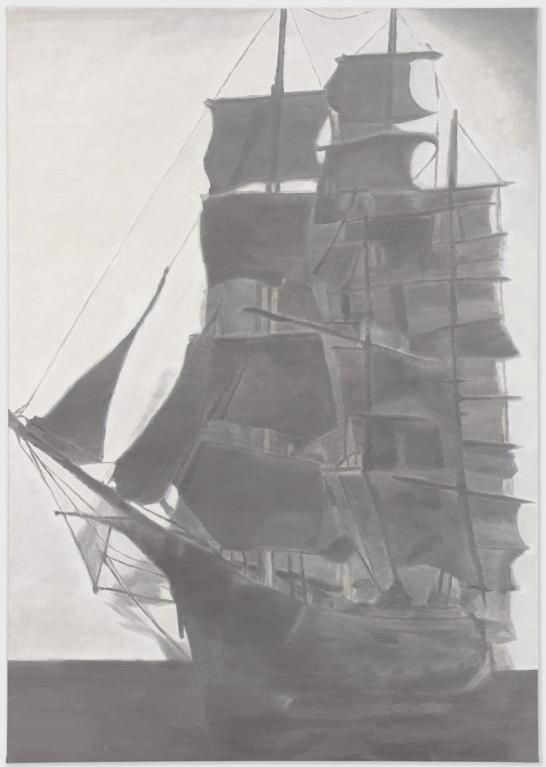 Luc Tuymans, Corporate, 2010, Oil on canvas, 267,7 x 188 cm
