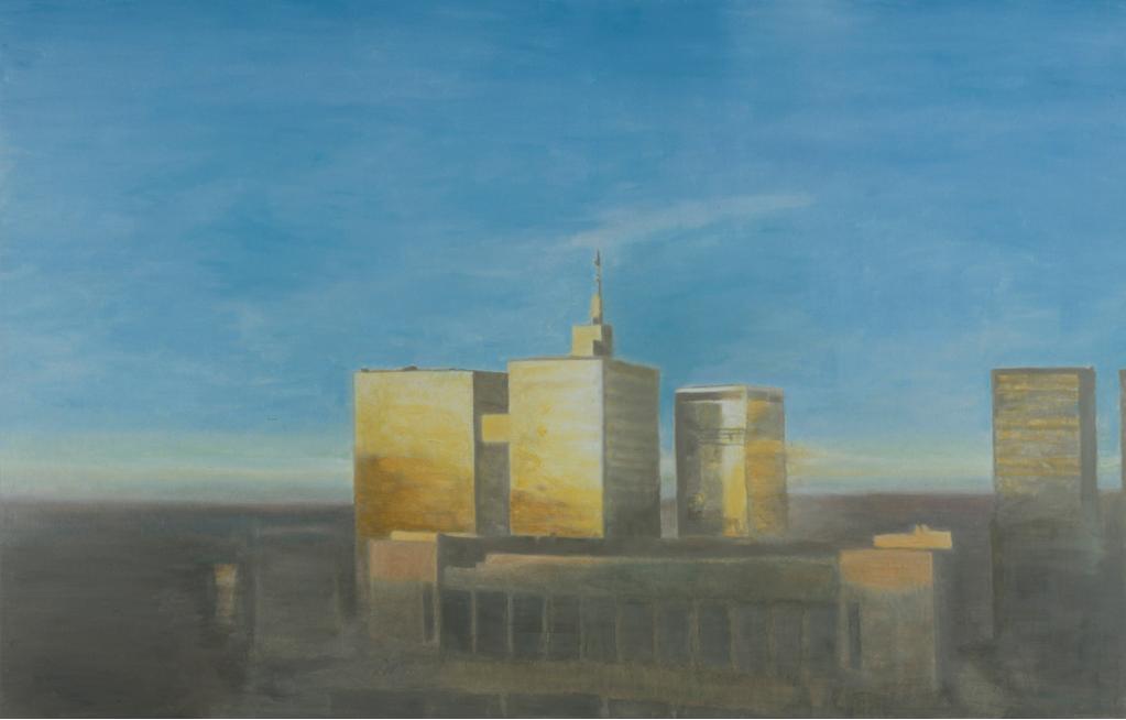 Luc Tuymans, Dusk, 2004, OIl on canvas, 166 x 260 cm