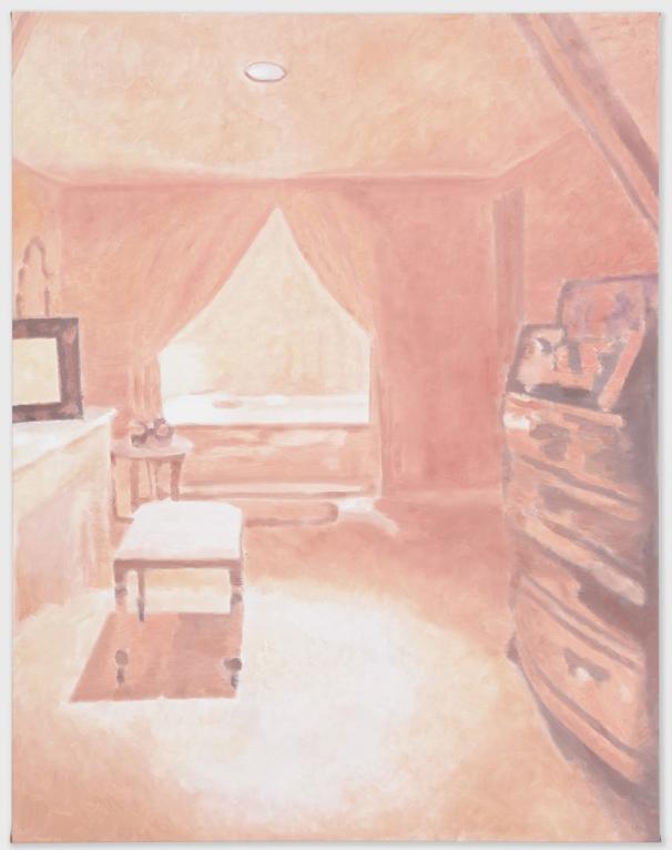 Luc Tuymans, Interior Nr.I, 2010, Oil on canvas, 188,5 x 145 cm