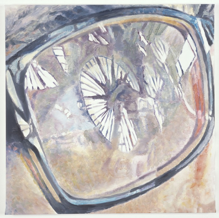 Luc Tuymans, Reflections, 2009, Oil on canvas, 98 x 99,4 cm