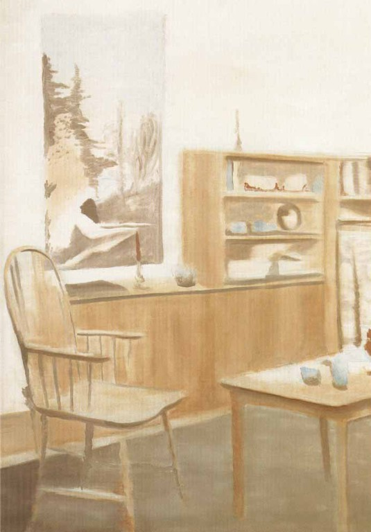 Luc Tuymans, The Room, 2009, Oil on canvas, 117 x 126 cm