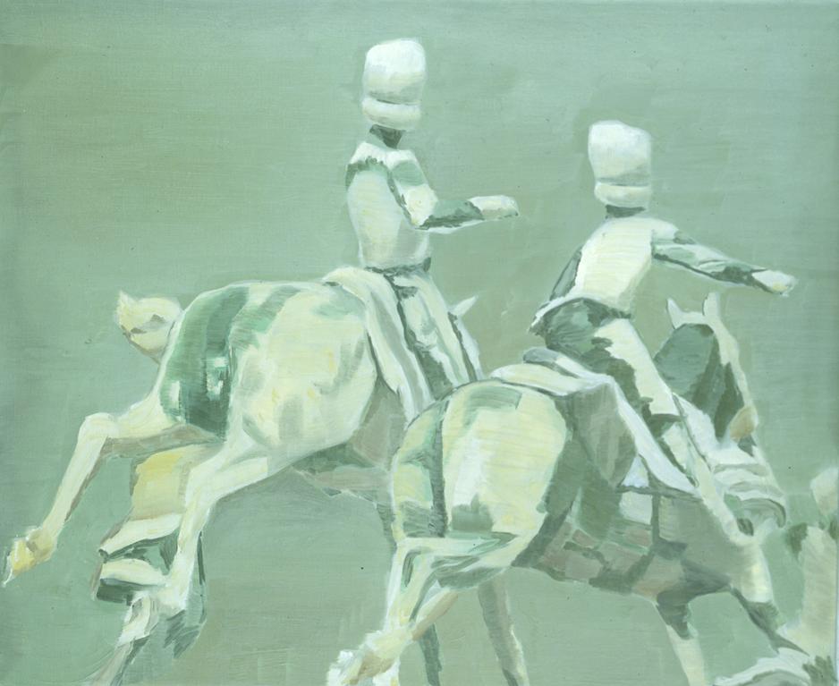Luc Tuymans, Toys, 1994, Oil on canvas, 64 x 78 cm
