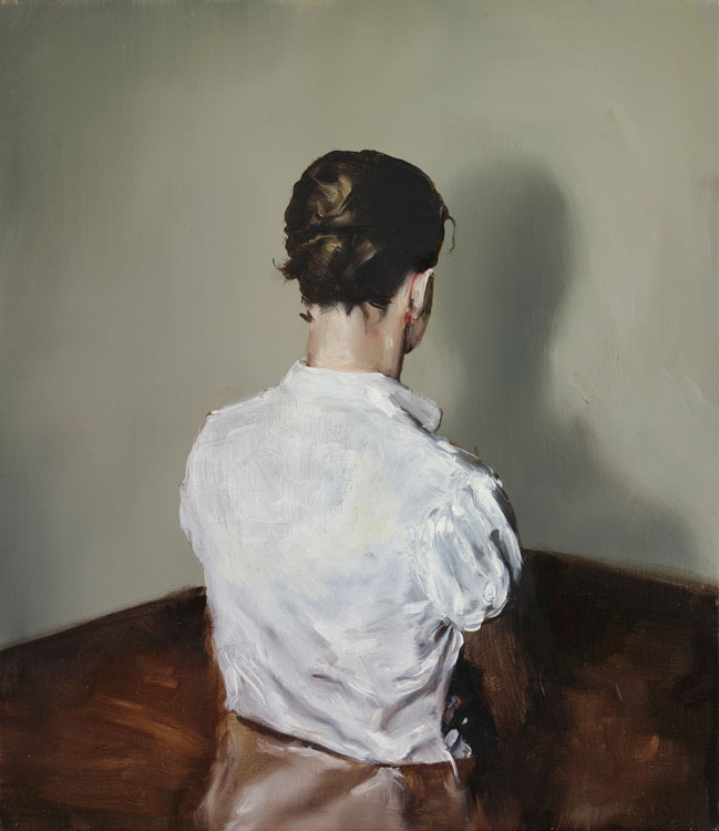 Michaël Borremans, A2, 2004, oil on canvas