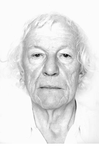 Roman Opalka, Self-portrait, 2000