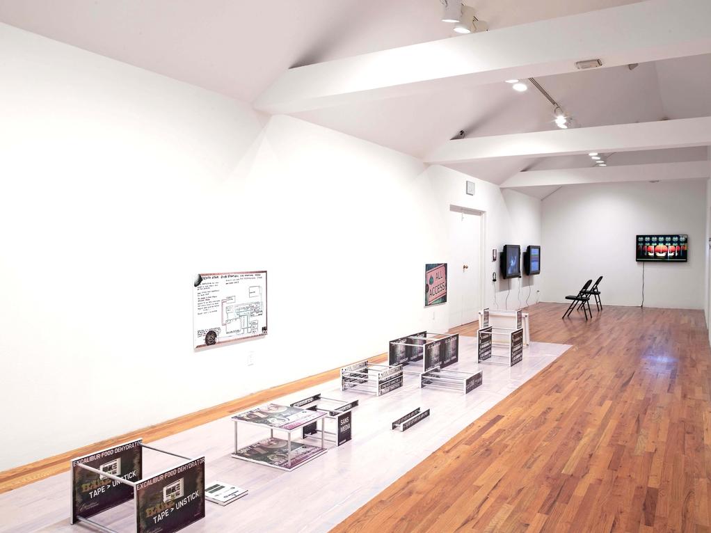 Simon Denny, Full Participation, Installation at Aspen Art Museum, May 18 – July 15, Aspen, 2012