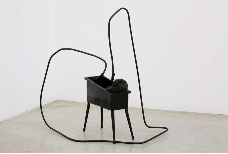 Tatiana Trouvé, Untitled, 2008, bronze, brown polish