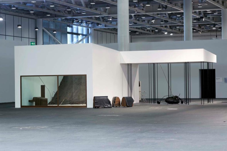 Tatiana Trouvé, View of the exhibition Art Unlimited, 2007, Art Basel, Switzerland